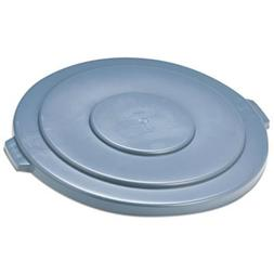 Rubbermaid FG265400GRAY BRUTE Flat Lid for 55 gal Round Cont