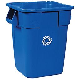 Rubbermaid Commercial Products BRUTE Square Bin Storage Cont