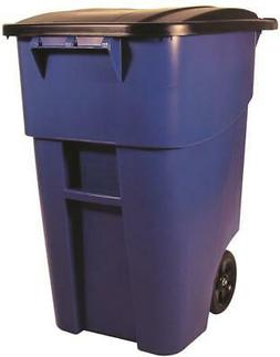 fg9w2773blue brute roll out container w lid