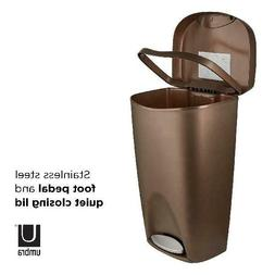 Foot Pedal Trash Can Large No Lid Touch Garbage Bin Indoor 1