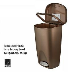 foot pedal trash can large no lid