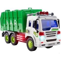 Garbage Truck Toys for 3 Year Old Boys and Girls - Friction