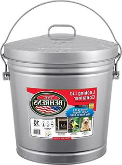 Behrens Galvanized Garbage Can
