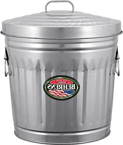 10 Gal Galvanized Steel Trash Can Behrens Miscellaneous 6210