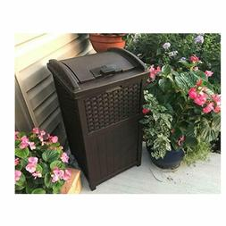 50 Gal Garbage Can Heavy Duty Foot Step Tall Garbage Contai