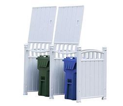 RubbishWrap Outdoor Garbage Enclosure - Trash Bin Shed Stora