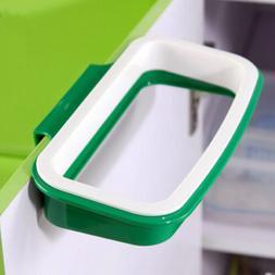Garbage Trash Bag Box Can Rack Plastic Hanging Holder Kitche
