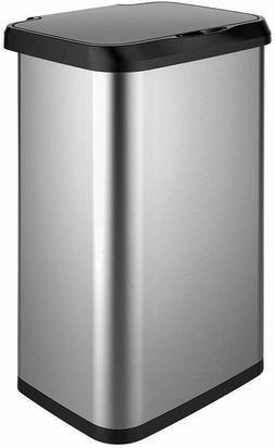 GLAD GLD 74514 20 Gal Capacity Stainless Steel Sensor Trash
