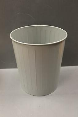 MBA Gray Office Waste Basket / Trash Can, 7520-00-281-5911,
