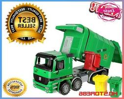 Green Kids Garbage Waste Rubbish Truck Toy Recycle Vehicle T