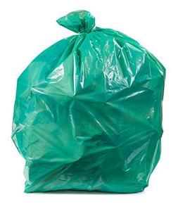 Plasticplace Green Trash Bags, 12-16 Gallon 250 / Case 1.0 M