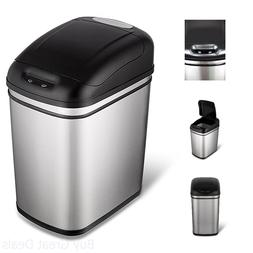 6.3 Gallon Hands-Free Infrared Motion Sensor Trash Can