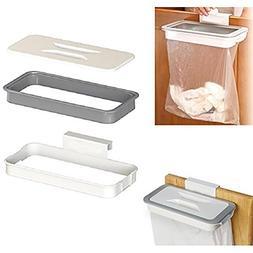 Afco Hanging Kitchen Garbage Bag Holder,Cabinet Door Basket