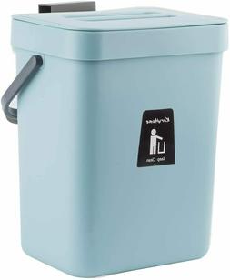 Hanging Small Trash Can with Lid Under Sink for Kitchen,Food