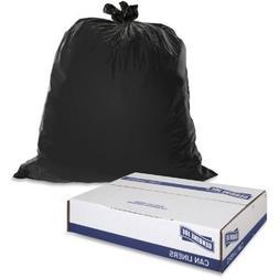 Genuine Joe Heavy-Duty Trash Can Liners, 60 gal, 50 Count -