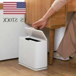 Home Bathroom Office Wastebasket Trash Can Garbage Rubbish B