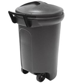 hyper tough 32 gallon wheeled trash can