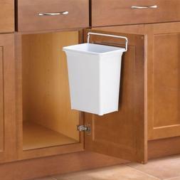 In-Cabinet Trash Can Door Mount Waste Bin Garbage Kitchen Or