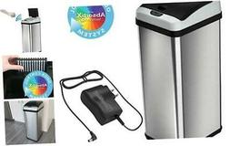 iTouchless 13 Gallon Stainless Steel Touchless Sensor Trash