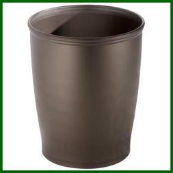 Kent Plastic Wastebasket SMALL Round Trash Can For Bathroom
