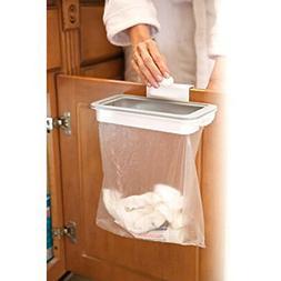 kitchen cabinet door basket hanging trash can