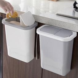 Kitchen Cabinet Wall-Mounted Trash Garbage Can Hanging Dustb