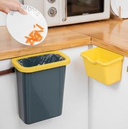 Kitchen Home Cabinet Door Hanging Waste Bin Trash Can Garbag