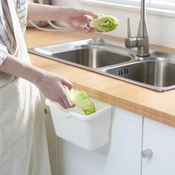 Kitchen Storage Containers Cabinet Door Hanging Trash Can Du