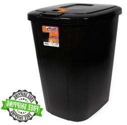Kitchen Trash Can 13 Gallon Garbage Bin Waste Basket Touch L