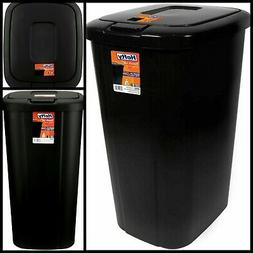 Kitchen Trash Can 13 Gallon Garbage Bin Waste Basket Touch L