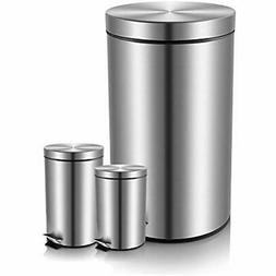 Kitchen Trash Cans Fortune Candy Step Can,Carbon Steel Garba