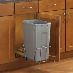 Kitchen Under Sink In Cabinet Trash Garbage Basket Can Pull
