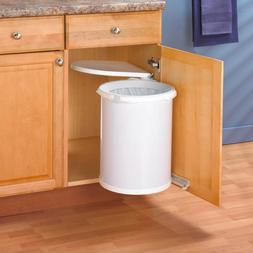 Kitchen Under Sink Cabinet Trash Waste Garbage Can Pivot Out
