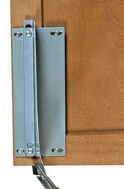 Knape & Vogt 18 x 4 x 23 in. Door-Mount Trash Can Bracket Ki