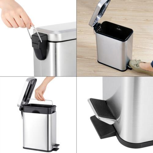 1.3 Gallon Garbage Bin Bathroom Bedroom Office