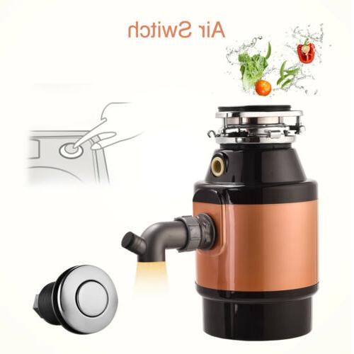 1.5 HP Commercial Garbage Disposal Food Kitchen Waste 3600