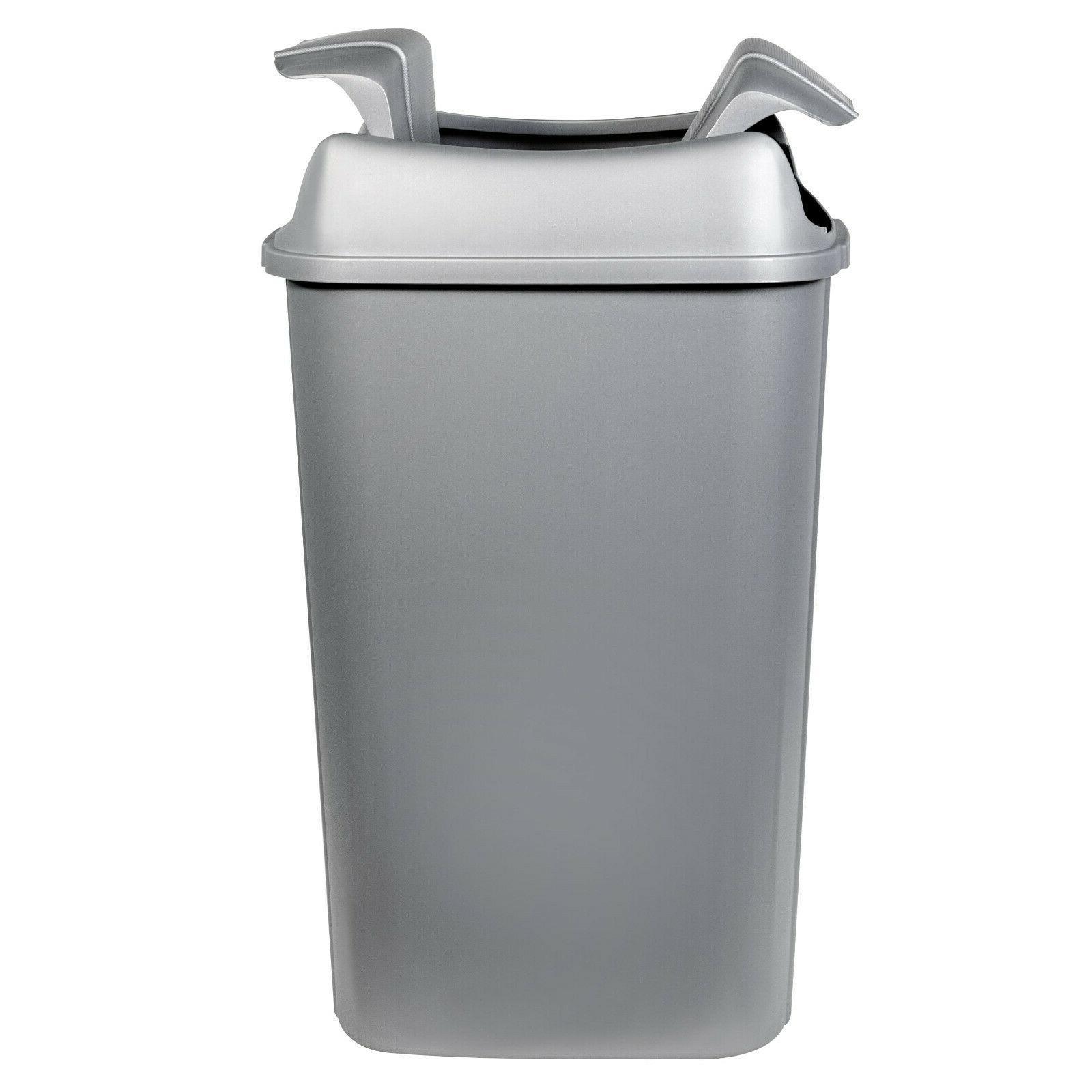 13.3-gallon Hefty Pivot Trash Can, Decorative