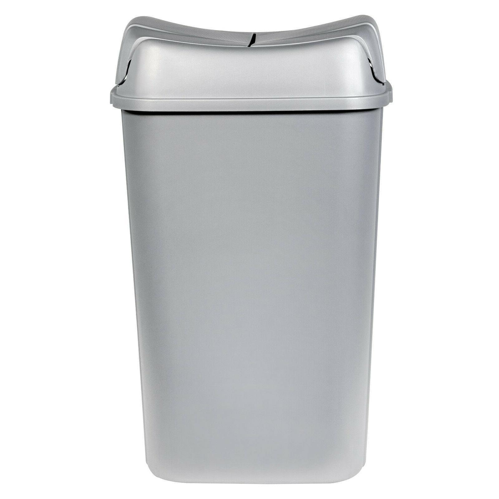 13 3 gallon pivot lid trash can