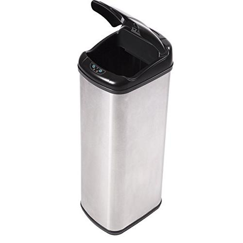 13 Gallon Automatic Trash Can Kitchen