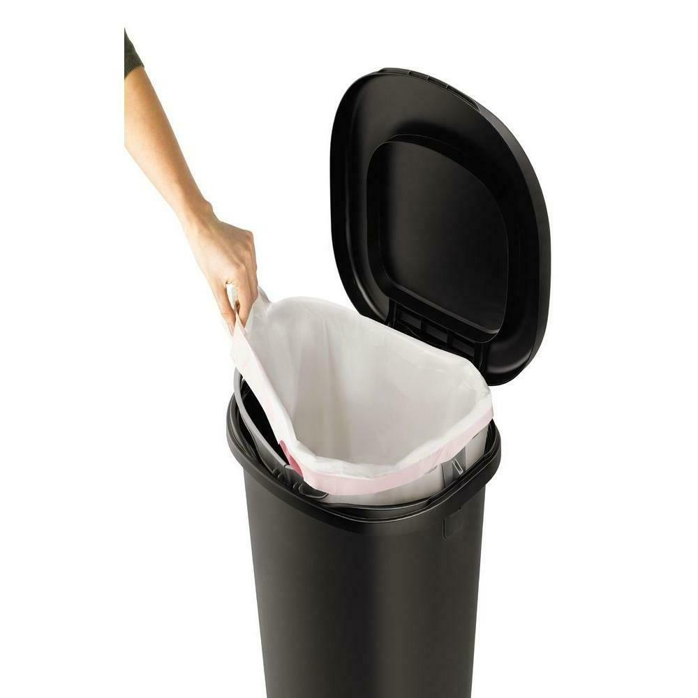 Rubbermaid Black Step-On Trash Can