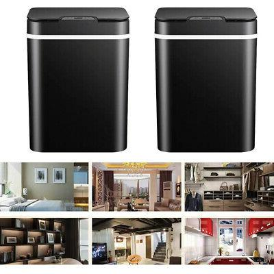 Automatic Trash Garbage Touchless Stainless Touch Free