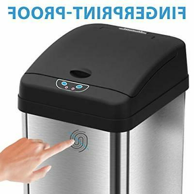 iTouchless Sensor Trash Can AbsorbX Filter Syst...