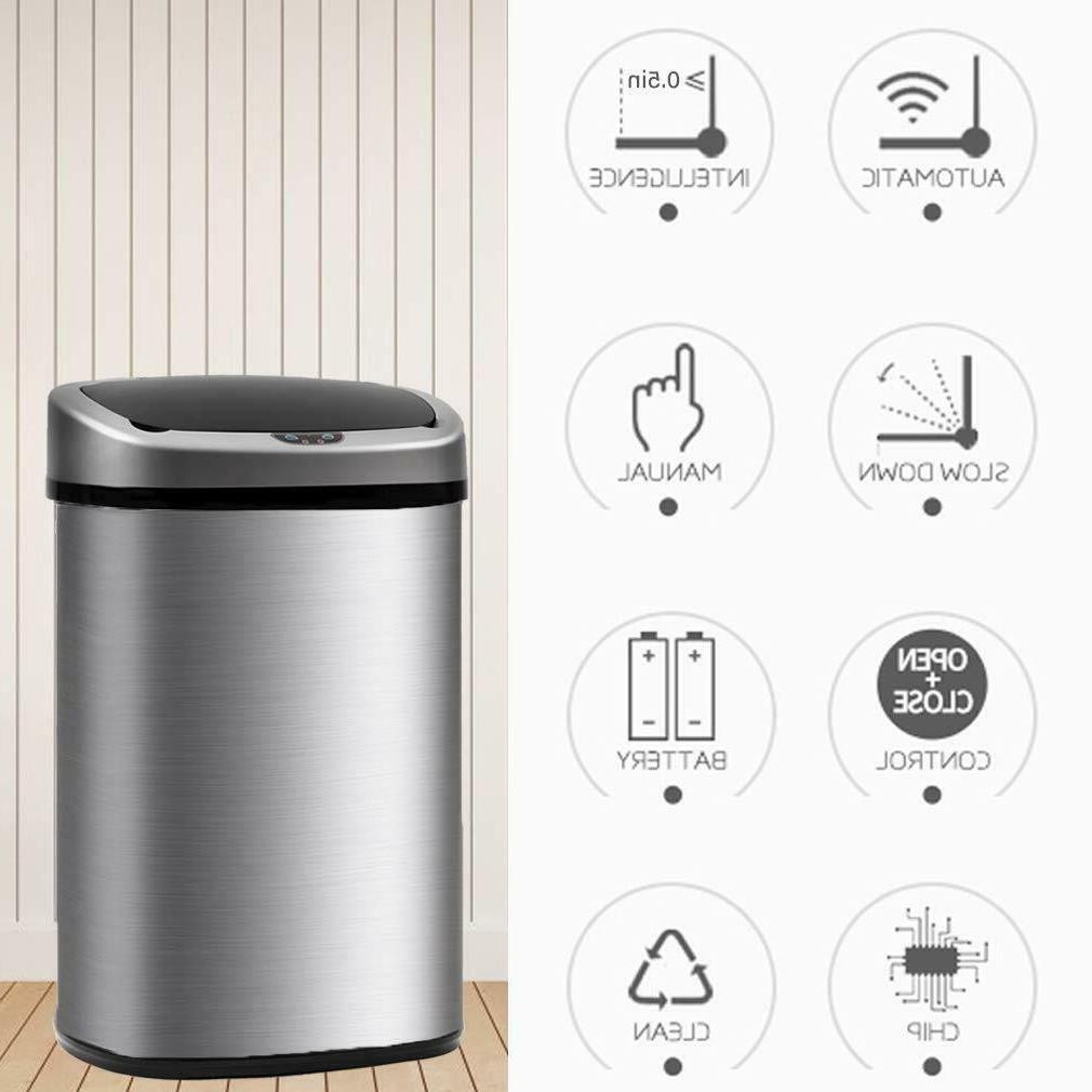 Best Kitchen Trash Steel gallon 50L