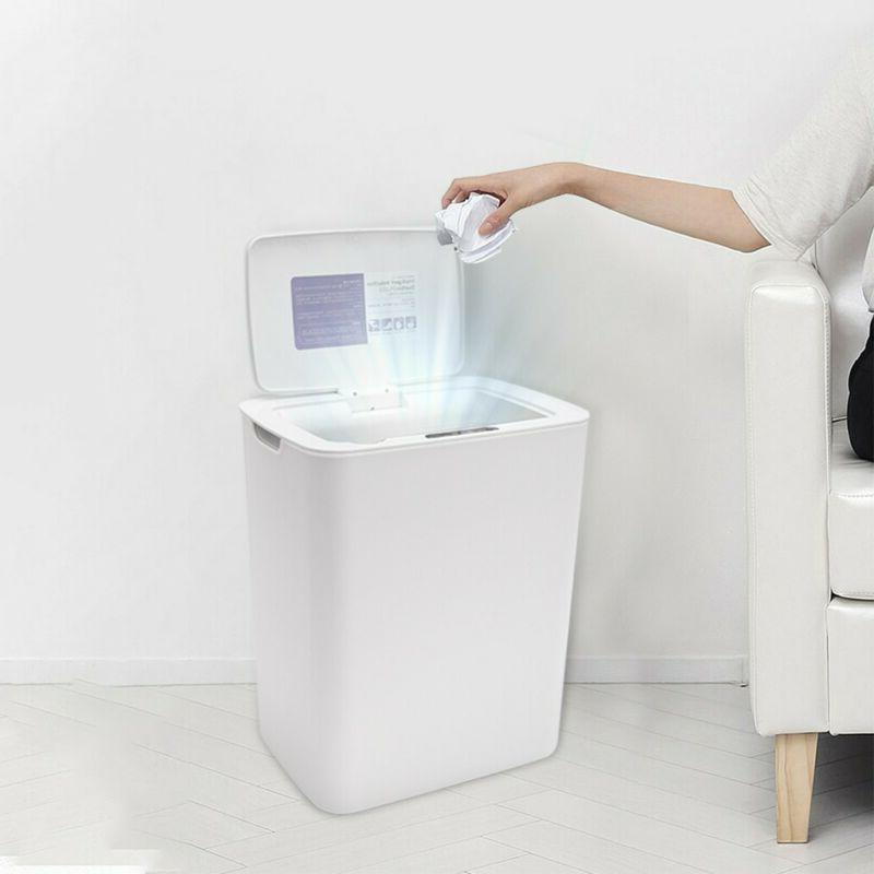 13L Trash Can Garbage Touchless Sensor Automatic Touch Free