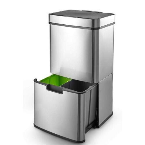 16 3 gallon rubbish capacity pro recycling