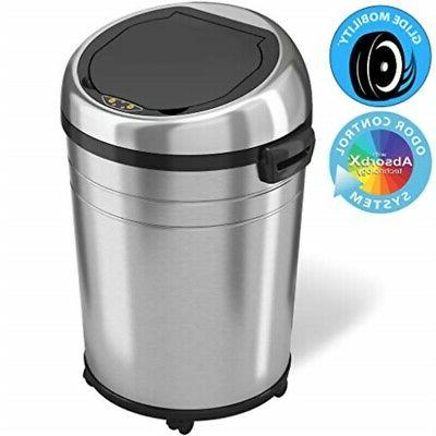 18 commercial touchless trash can