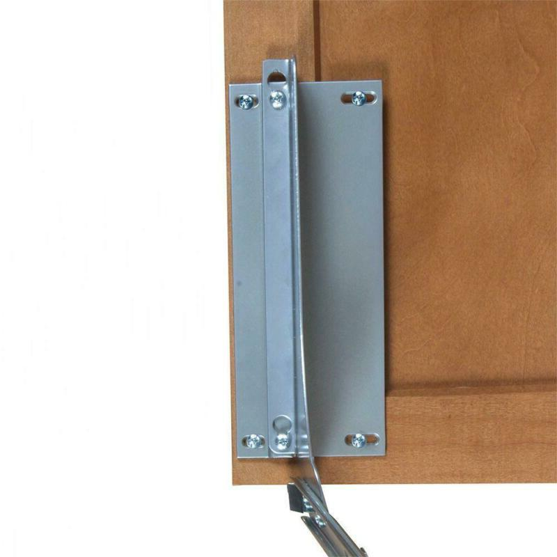 18 In. H X 4 In. W X 23 In. D Door-Mount Trash Can Bracket K