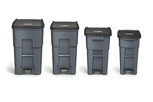 """Rubbermaid Commercial 65 L, Height, 25.330"""""""