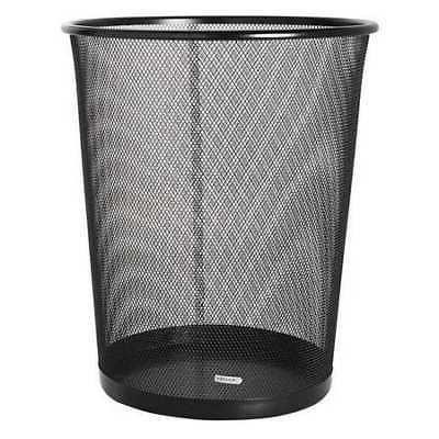 22351 5 gal solid metal round wastebasket