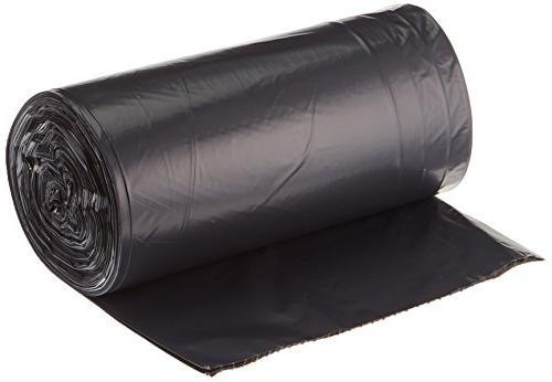 AmazonBasics Gallon Trash Can mil, Black, 250-Count